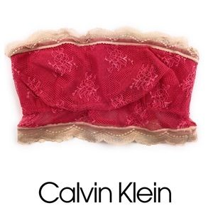 Calvin Klein Pink & Cream Bandeau